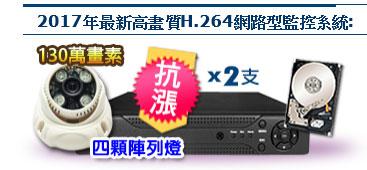 AHD 960P陣列式半球形紅外線彩色攝影機